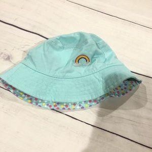 Other - Light teal girls sun hat